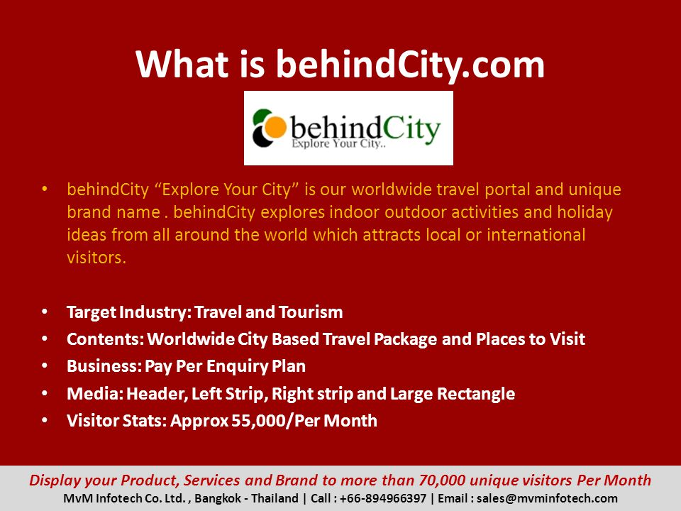 What is behindCity.com