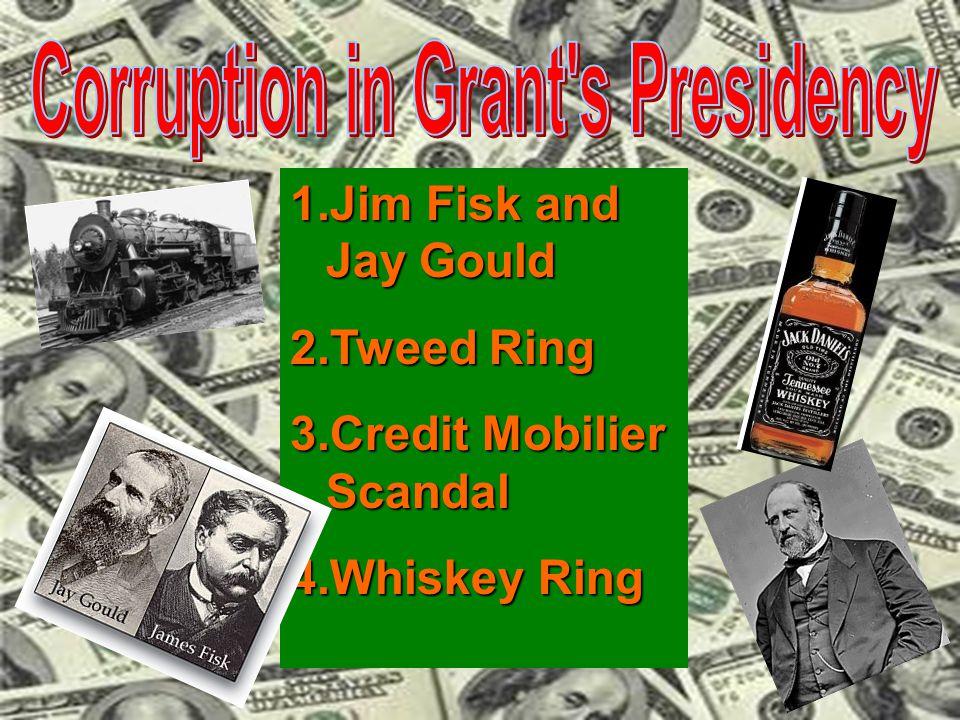 Corruption in Grant s Presidency