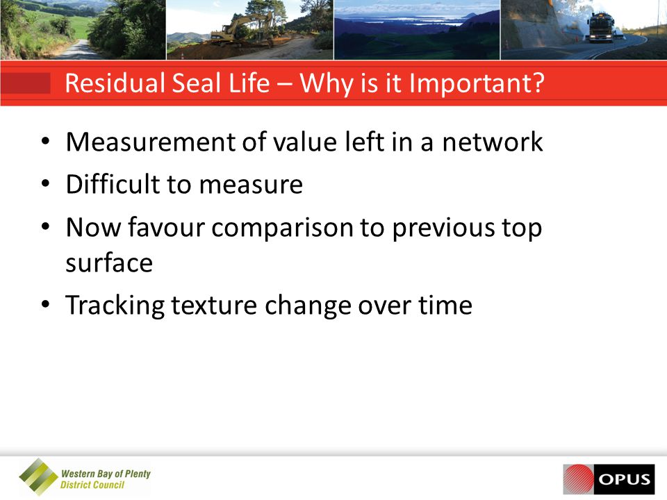 Residual Seal Life – Why is it Important