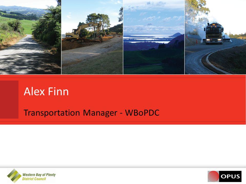 Transportation Manager - WBoPDC