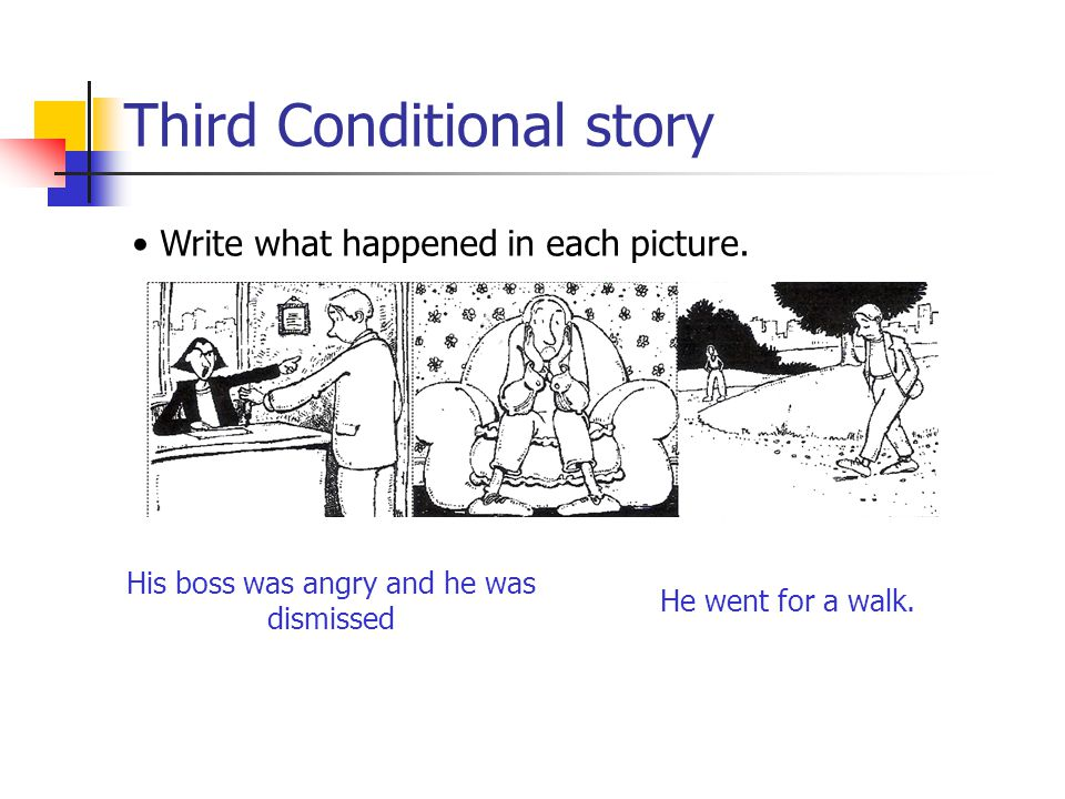 Third Conditional story