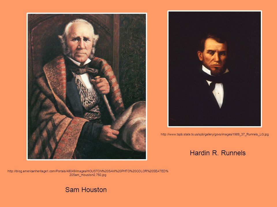 Hardin R. Runnels Sam Houston