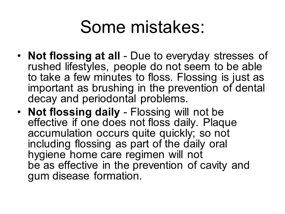 Some mistakes: