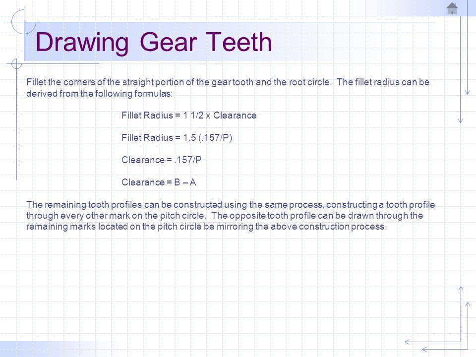 Drawing Gear Teeth