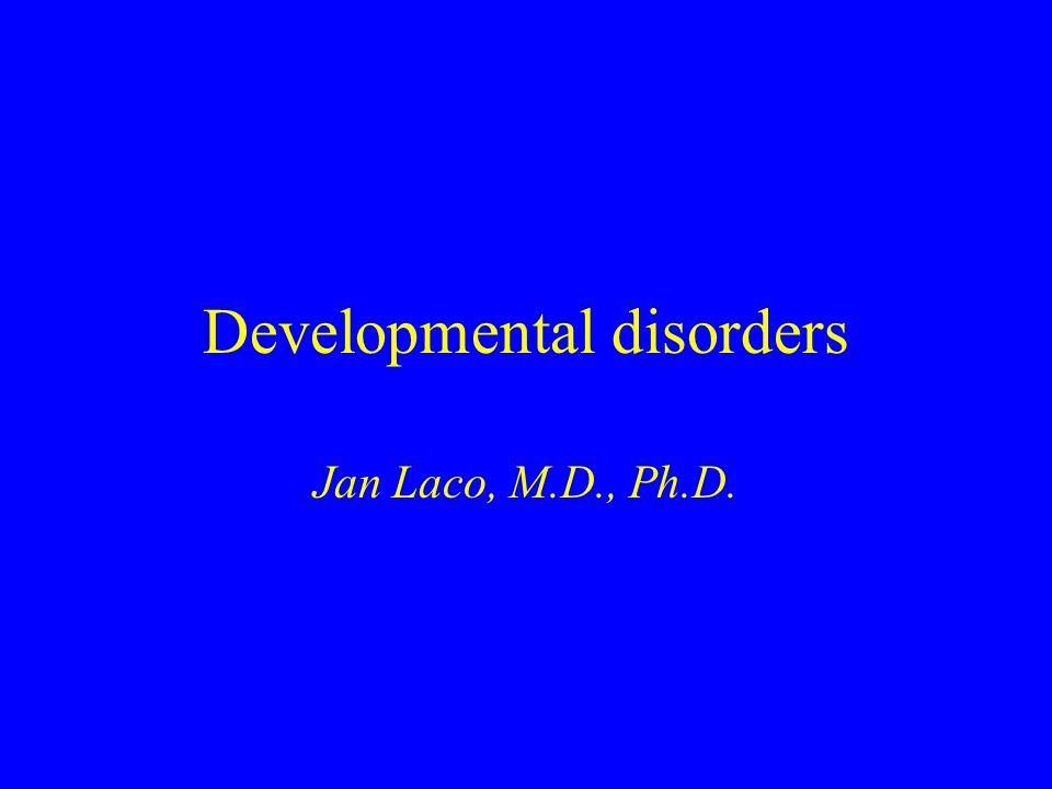 Developmental disorders