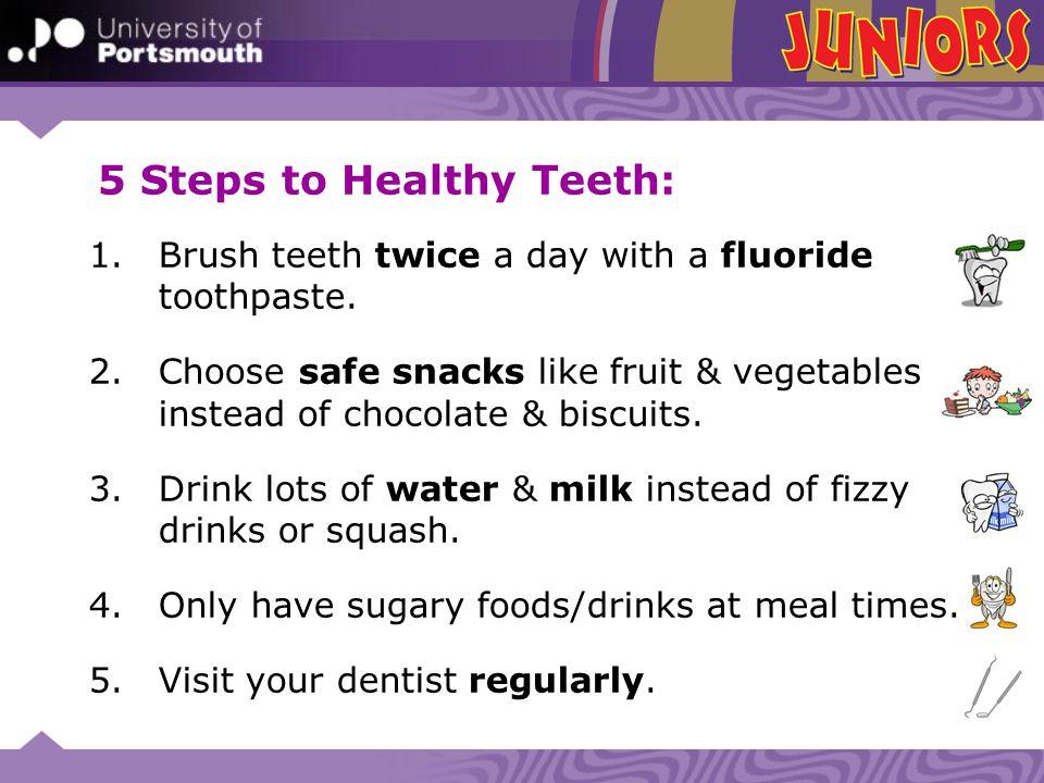 5 Steps to Healthy Teeth: