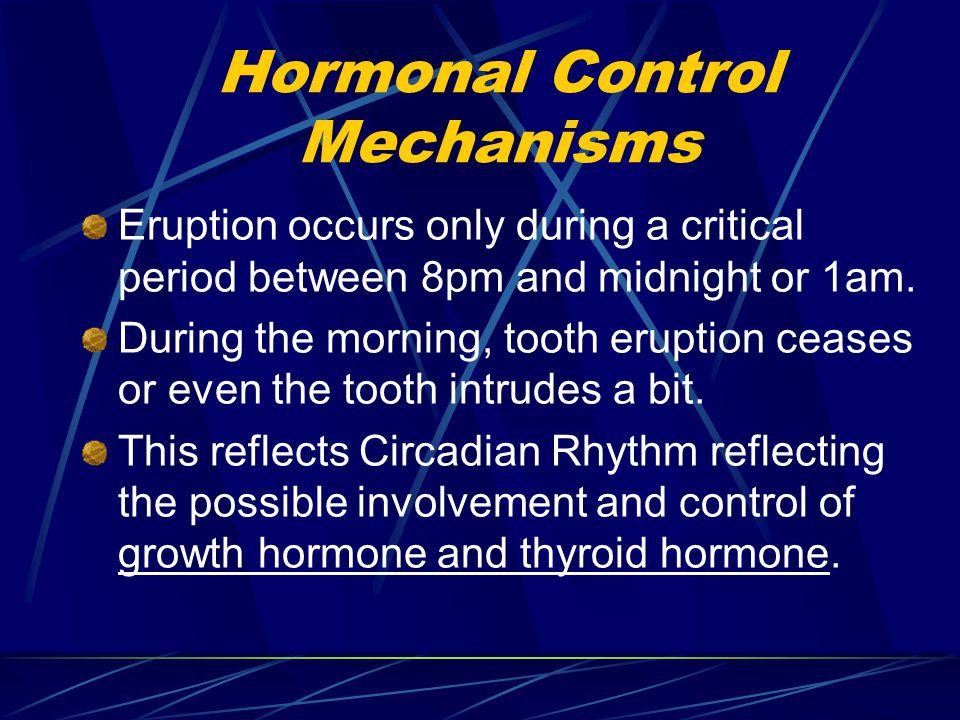 Hormonal Control Mechanisms