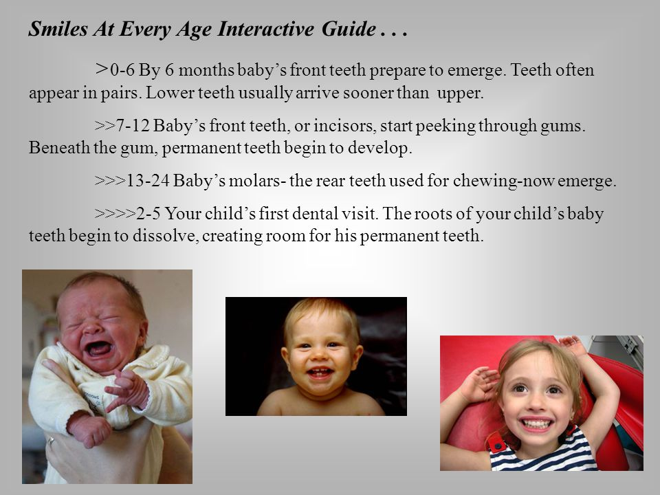 Smiles At Every Age Interactive Guide . . .