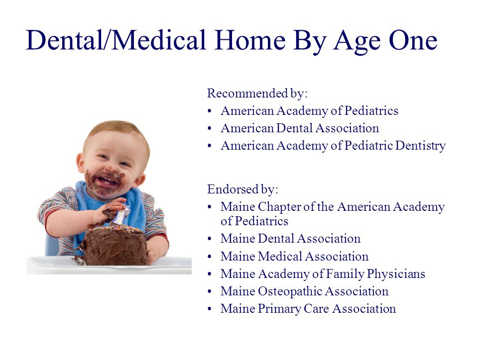 Dental/Medical Home By Age One