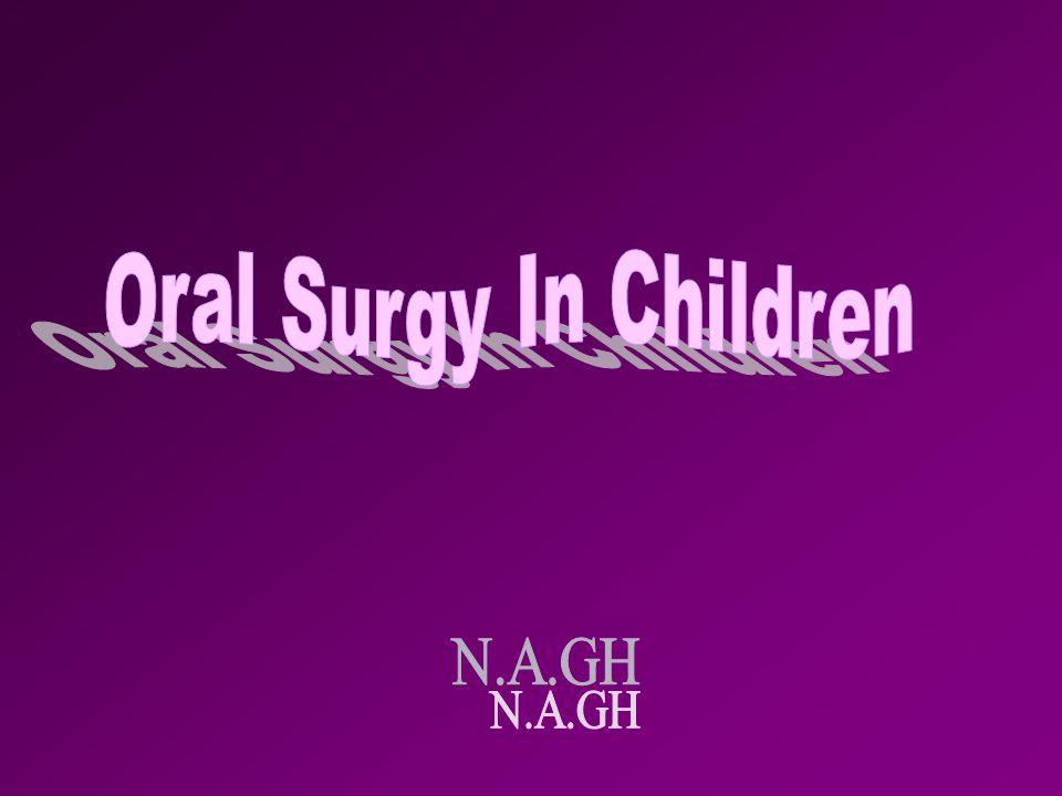 Oral Surgy In Children N.A.GH