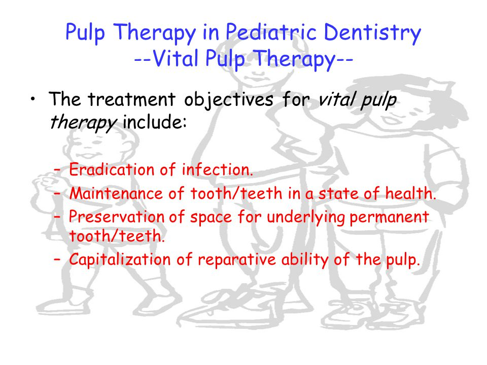 Pulp Therapy in Pediatric Dentistry --Vital Pulp Therapy--