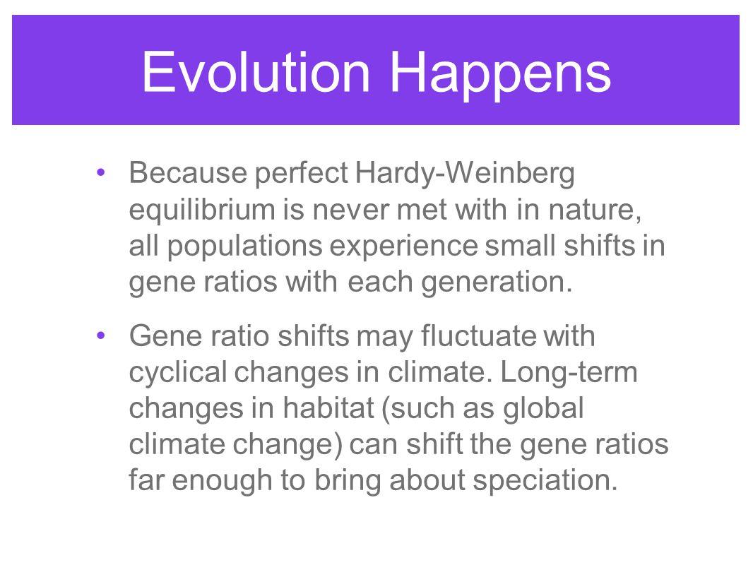 Evolution Happens