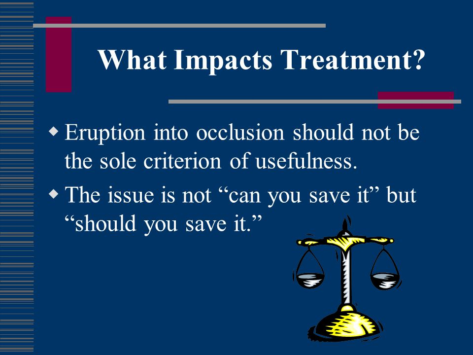 What Impacts Treatment