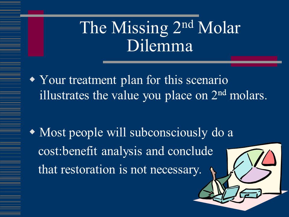 The Missing 2nd Molar Dilemma