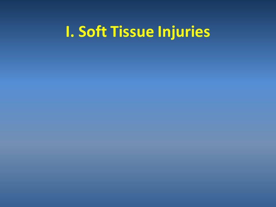 I. Soft Tissue Injuries