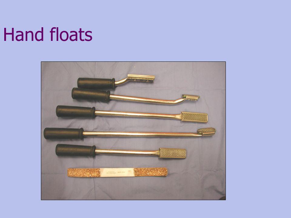 Hand floats