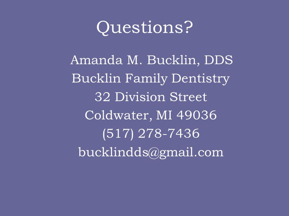 Bucklin Family Dentistry