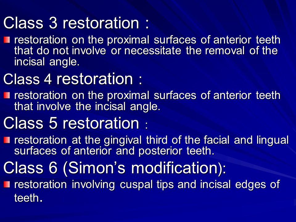 Class 6 (Simon's modification):
