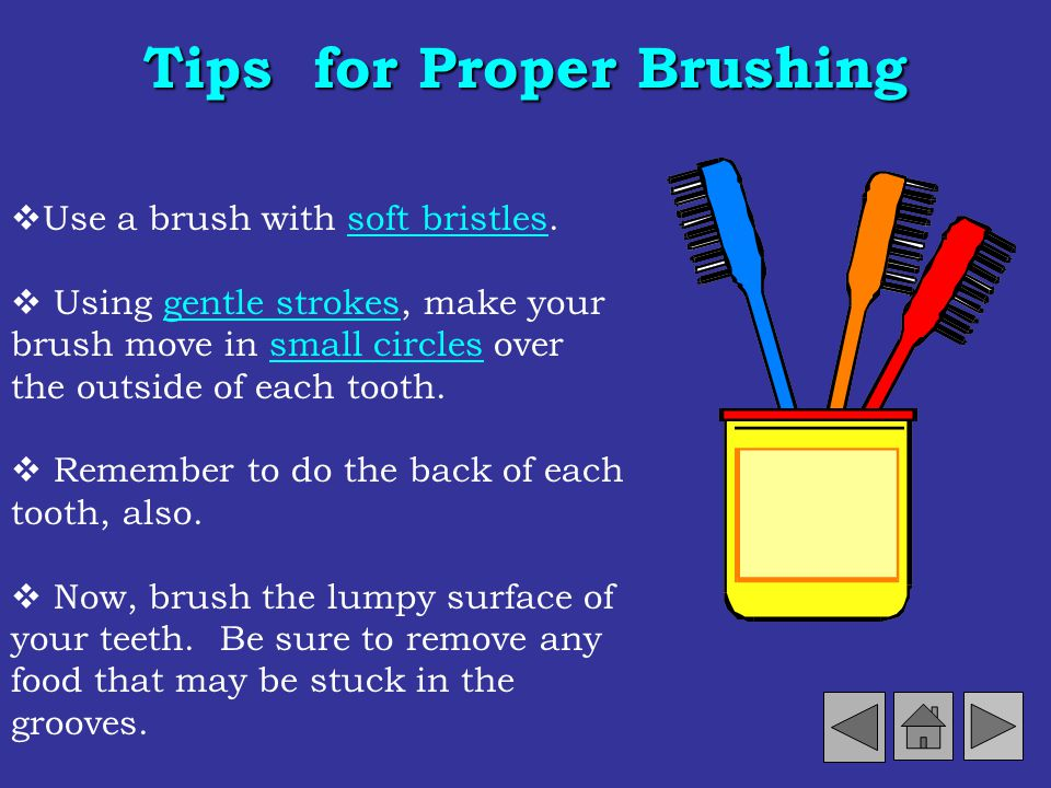 Tips for Proper Brushing