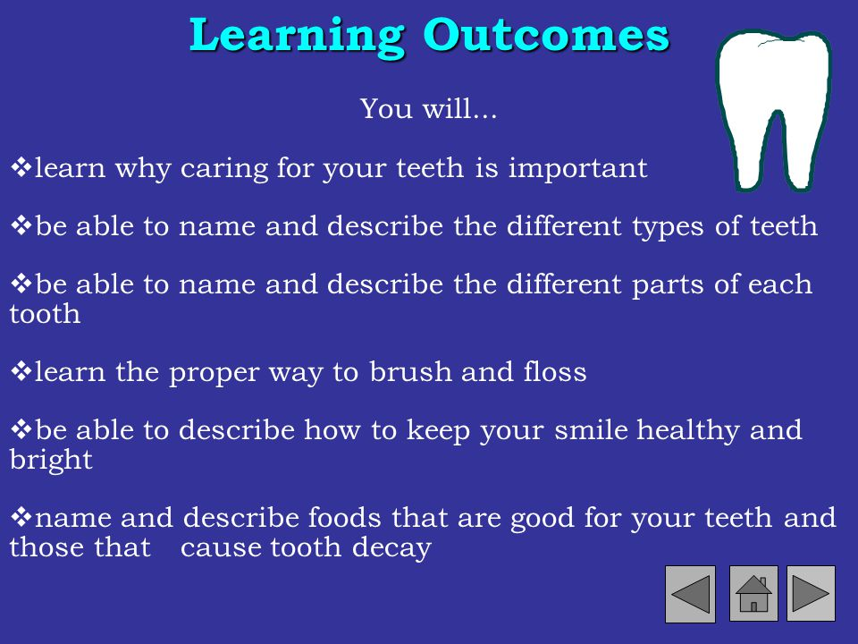 Learning Outcomes You will...