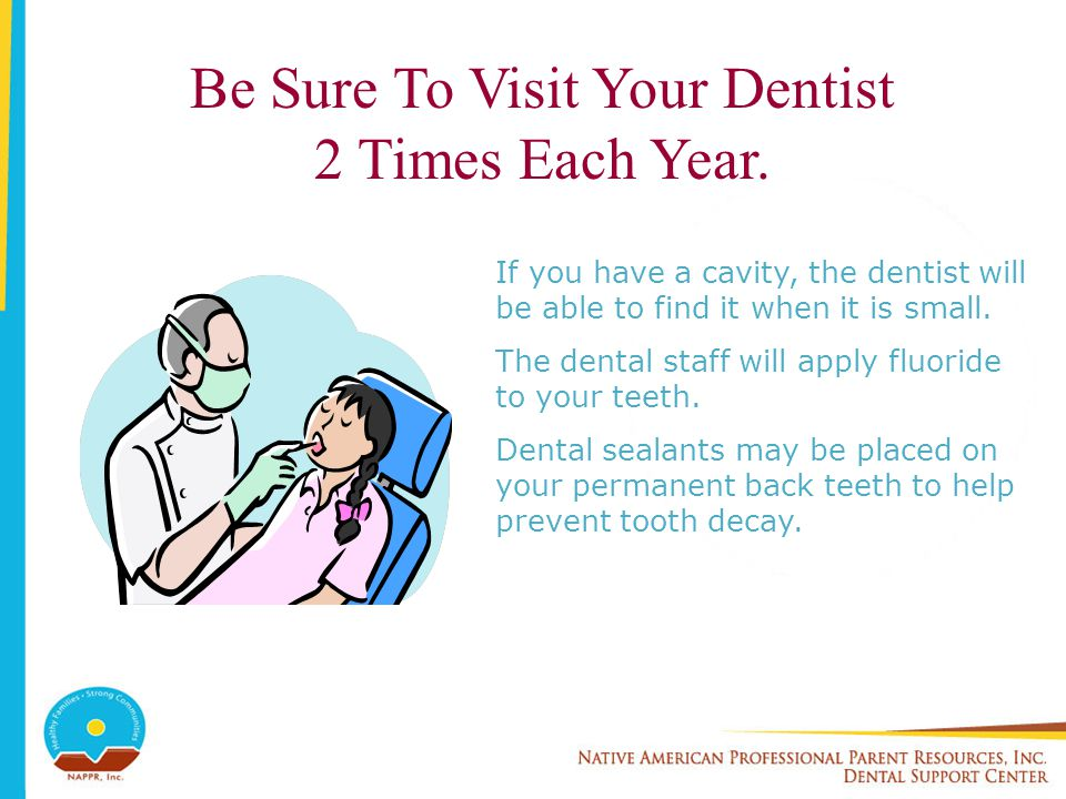 Be Sure To Visit Your Dentist