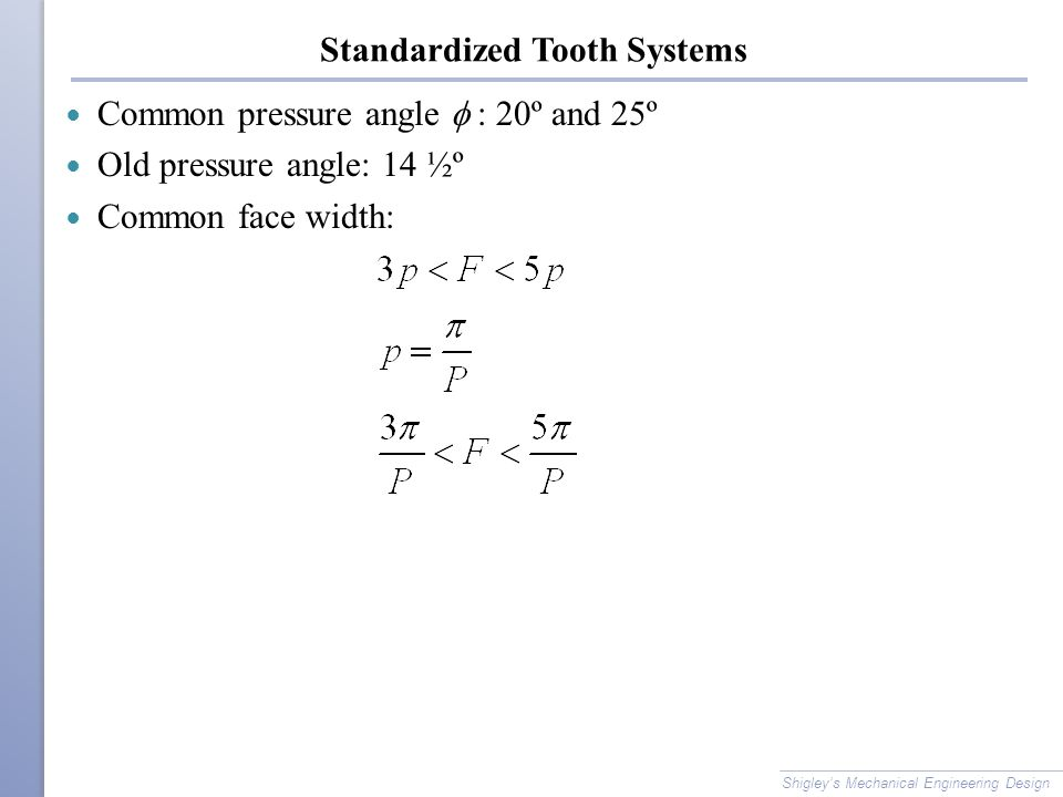 Standardized Tooth Systems