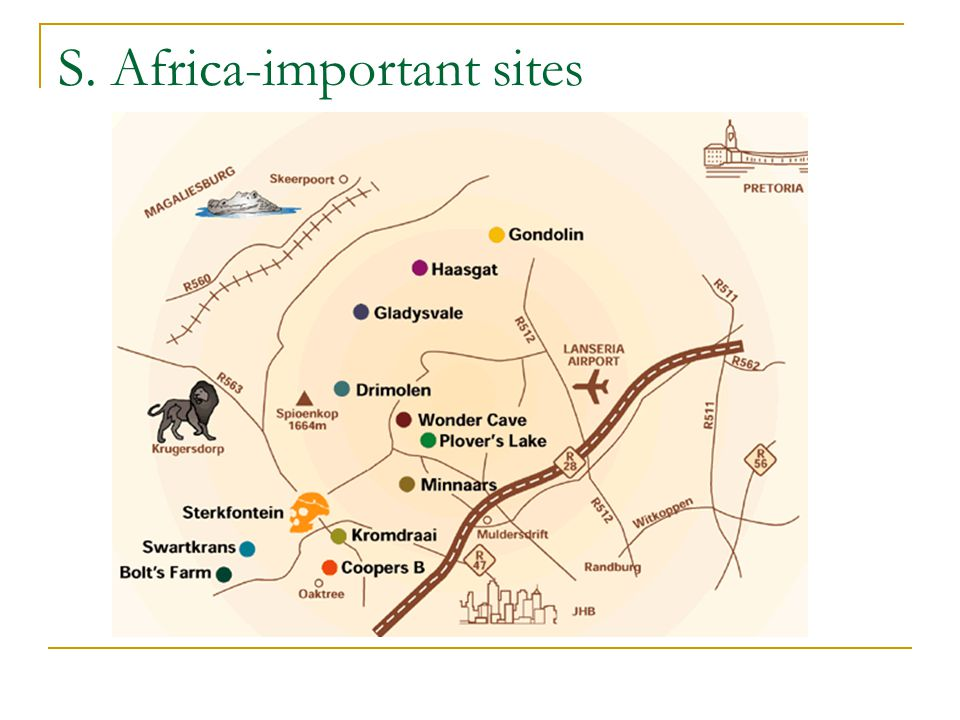 S. Africa-important sites