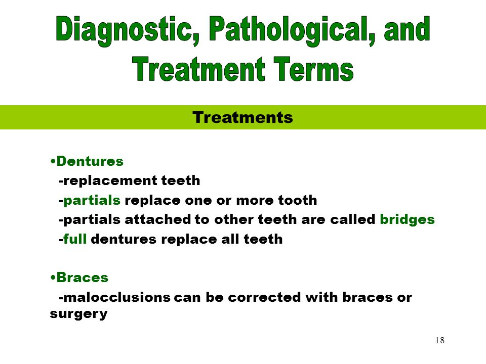 Diagnostic, Pathological, and