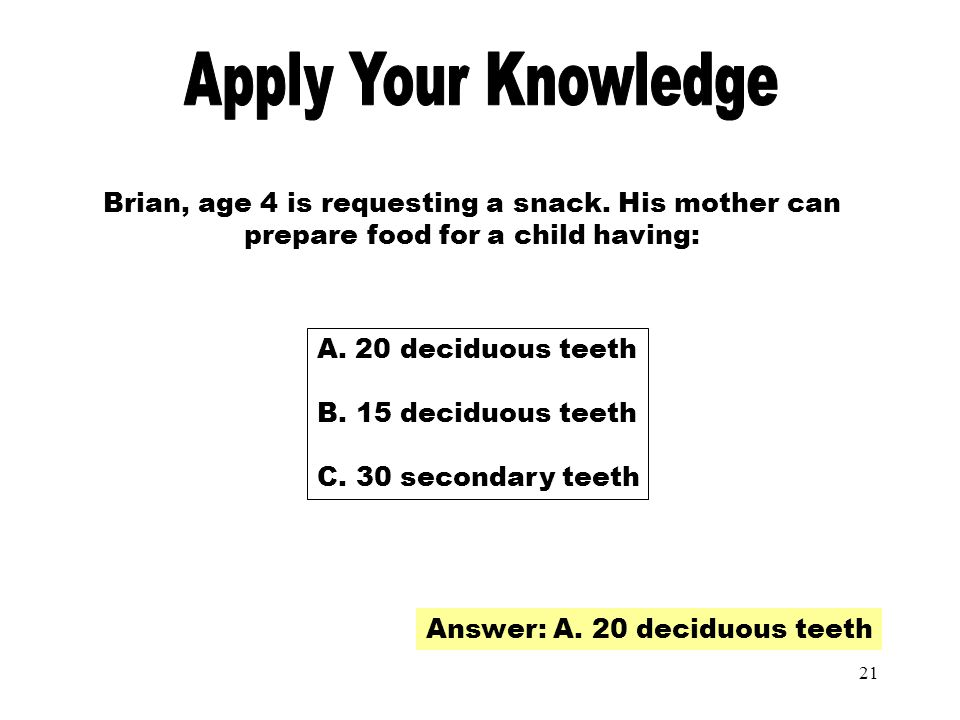 Apply Your Knowledge Apply Your Knowledge