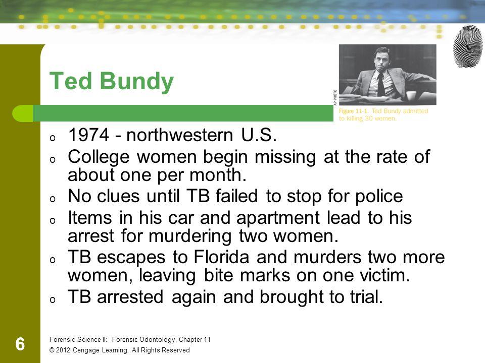Ted Bundy 1974 - northwestern U.S.