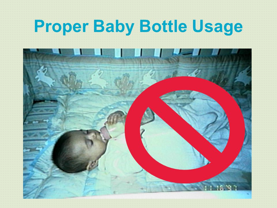 Proper Baby Bottle Usage