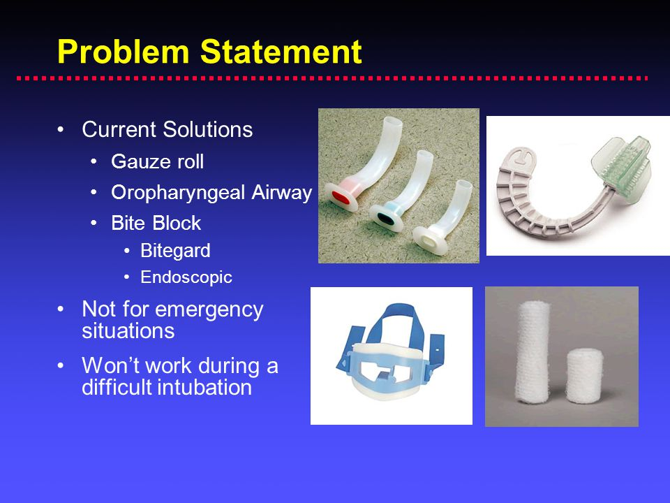 Problem Statement Current Solutions Not for emergency situations