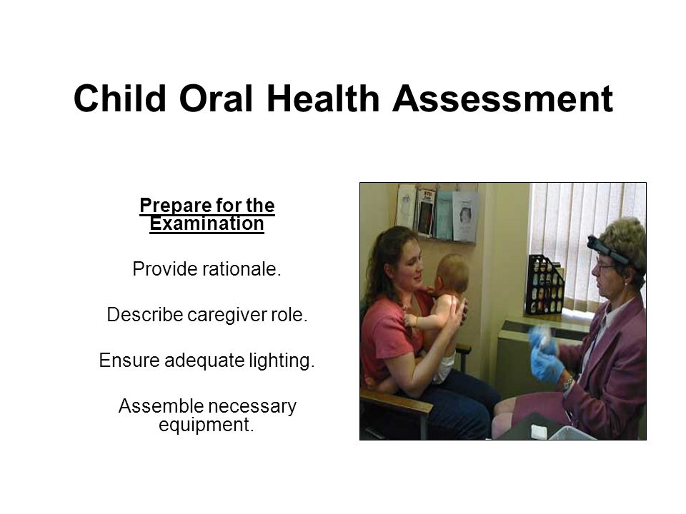 Child Oral Health Assessment