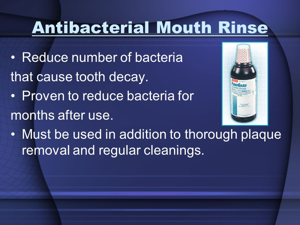 Antibacterial Mouth Rinse