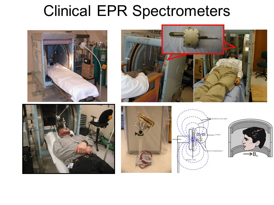 Clinical EPR Spectrometers