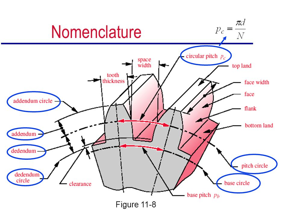 Nomenclature Figure 11-8