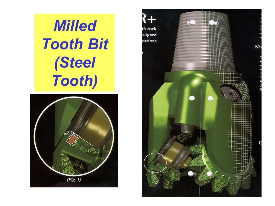 Milled Tooth Bit (Steel Tooth)
