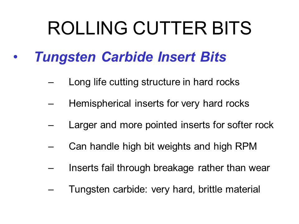 ROLLING CUTTER BITS Tungsten Carbide Insert Bits
