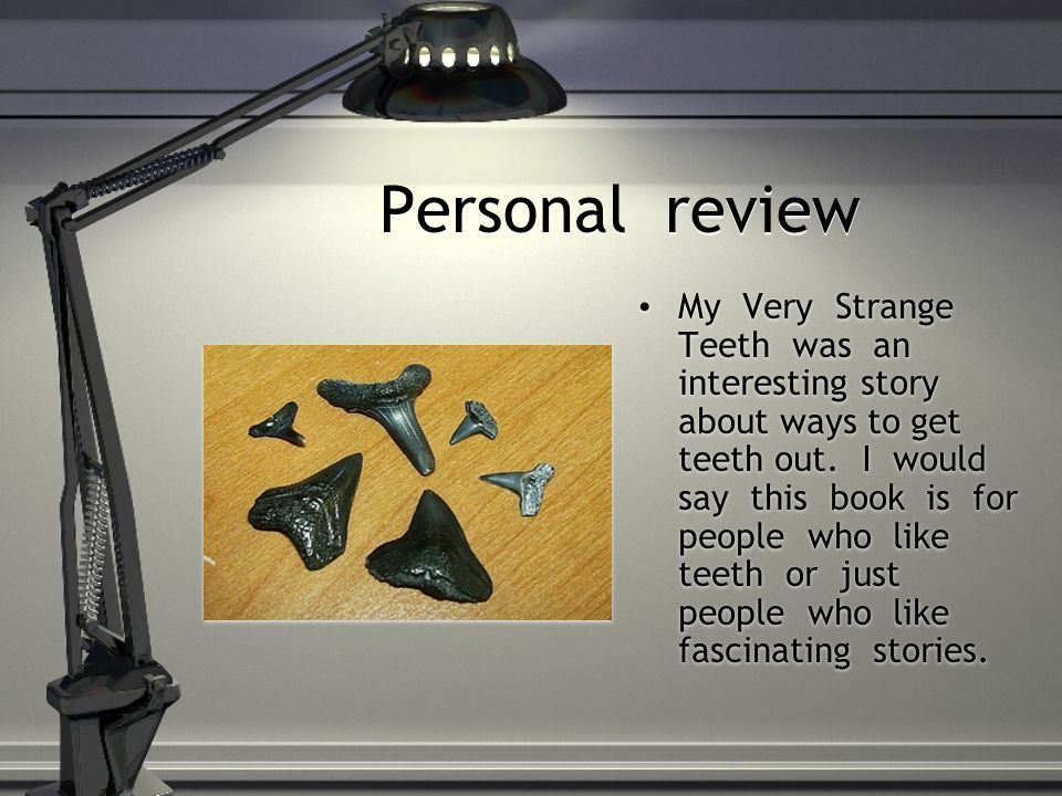 Personal review