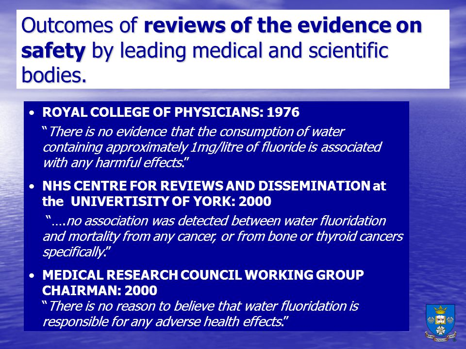 Outcomes of reviews of the evidence on safety by leading medical and scientific bodies.