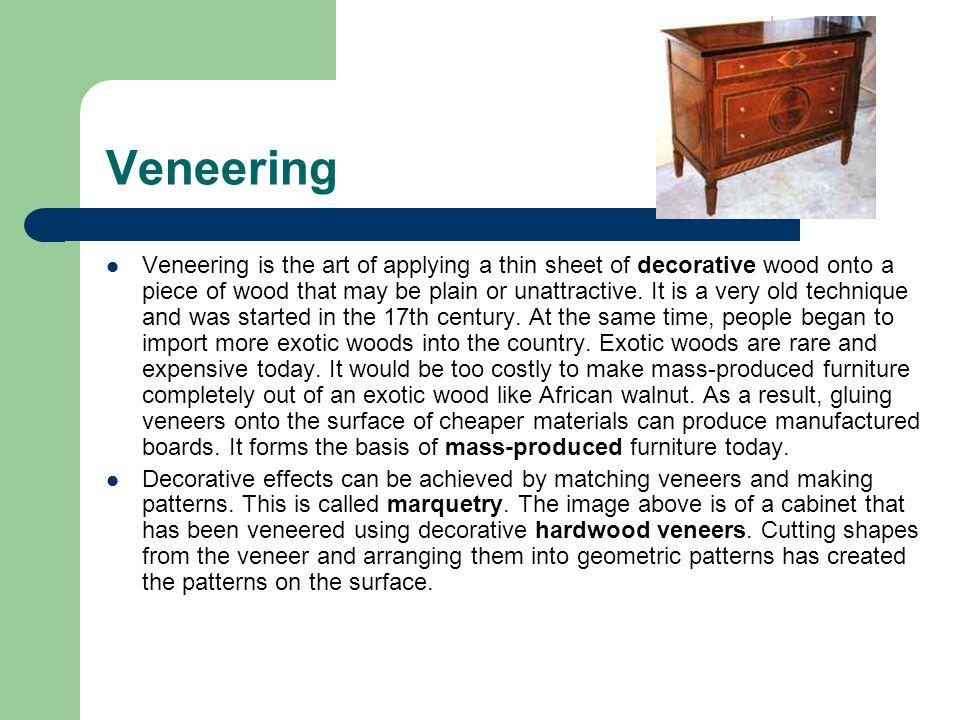 Veneering