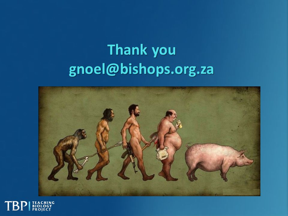Thank you gnoel@bishops.org.za