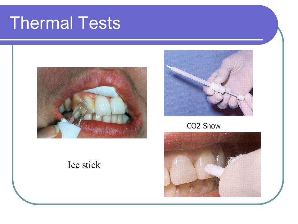 Thermal Tests CO2 Snow Ice stick