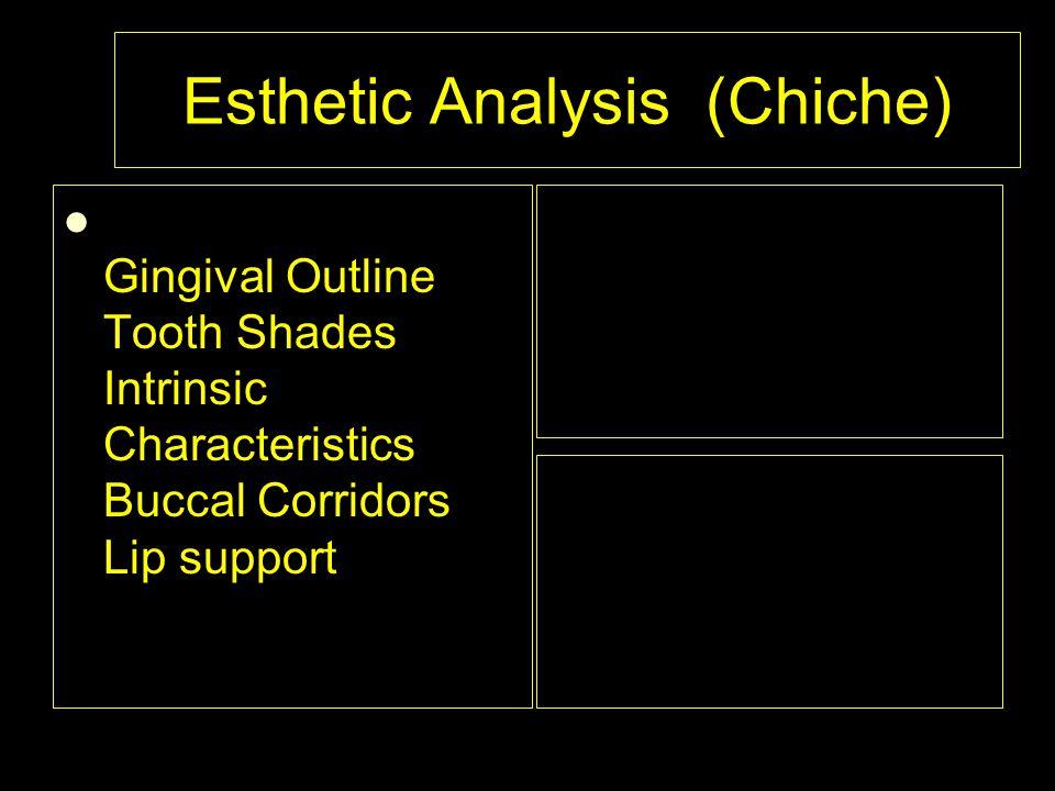 Esthetic Analysis (Chiche)