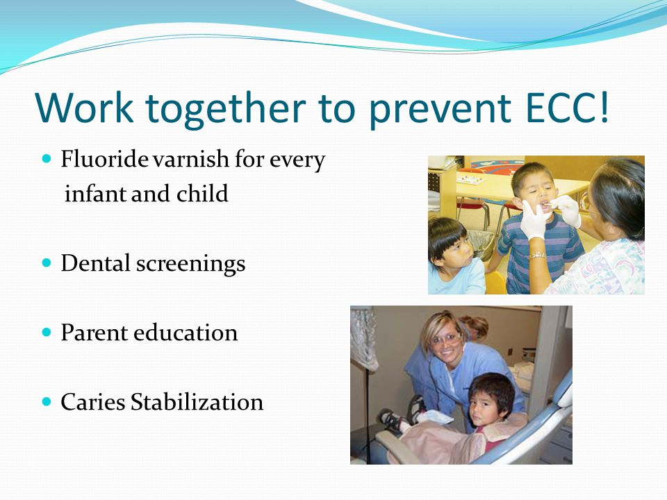 Work together to prevent ECC!