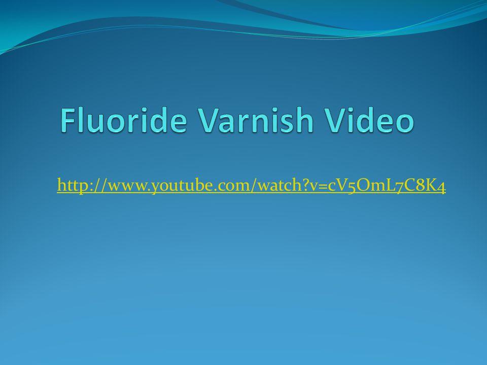 Fluoride Varnish Video