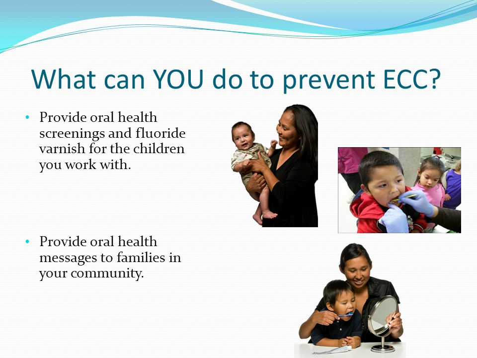 What can YOU do to prevent ECC