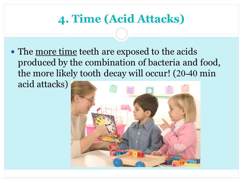 4. Time (Acid Attacks)