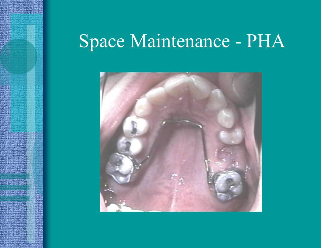 Space Maintenance - PHA