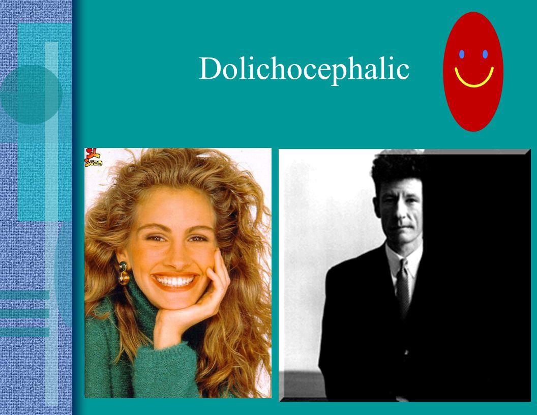 Dolichocephalic